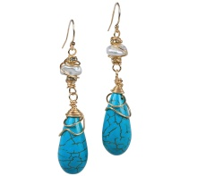 Turquoise Summer Earrings