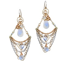 Gypsy Style Chandelier Earrings