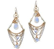 Gypsy Style Chandelier Earrings