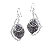 Sculptural Silver Earrings