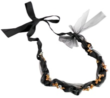 Bow Ribbon Necklace
