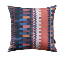 Orange Bauhaus Pillow