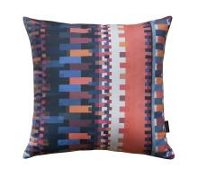 Orange Bauhaus Pillow