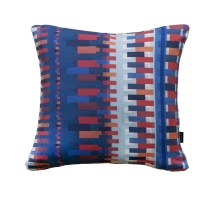 Blue Bauhaus Pillow