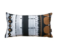 Orange Folklore Rectangular Pillow