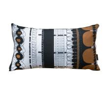 Orange Folklore Rectangular Pillow