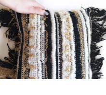 Textural Handwoven Pillow