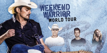 Brad Paisley: Weekend Warrior World Tour at The Pavilion at Toyota Music Factory