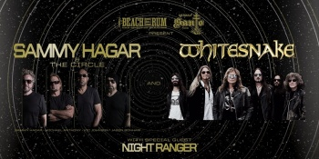 Sammy Hagar & The Circle with Whitesnake and Night Ranger in Ridgefield