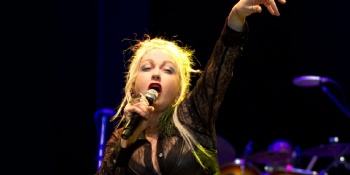 Cyndi Lauper with Orchestra at the Hollywood Bowl