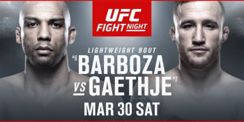 UFC Fight Night: Barboza vs. Gaethje in Philadelphia