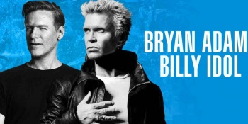 Billy Idol & Bryan Adams at DTE Energy Music Theatre