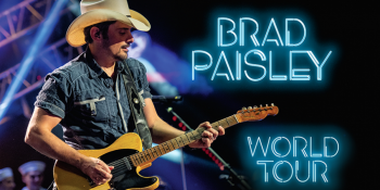 Brad Paisley: World Tour at Coastal Credit Union Music Park at Walnut Creek