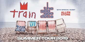 Train & Goo Goo Dolls Summer Tour at Coastal Credit Union Music Park at Walnut Creek