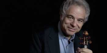 Dudamel & Itzhak Perlman at the Hollywood Bowl