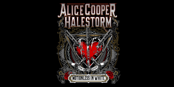 Alice Cooper with Halestorm at DTE Energy Music Theatre