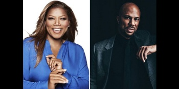Queen Latifah and Common at the Hollywood Bowl