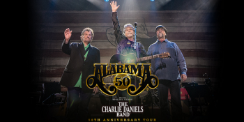 Alabama with the Charlie Daniels Band in Minneapolis