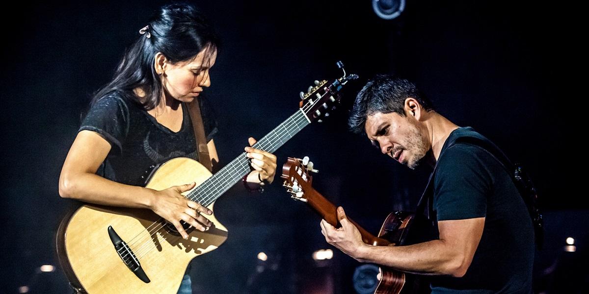 Rodrigo & Gabriela with Dudamel at the Hollywood Bowl