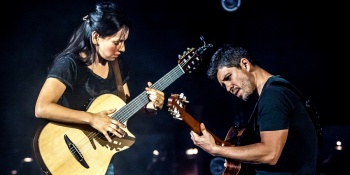 Rodrigo & Gabriela with Dudamel at the Hollywood Bowl