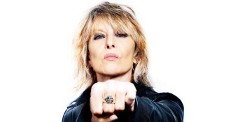 Chrissie Hynde at the Hollywood Bowl