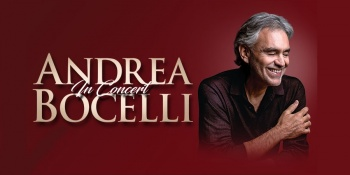 Andrea Bocelli in San Jose