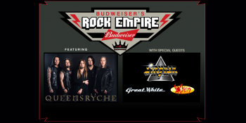 Budweiser's Rock Empire ft. Queensryche, Stryper, Great White & Vixen at H-E-B Center
