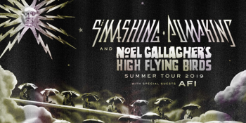 The Smashing Pumpkins & Noel Gallagher's High Flying Birds Tour at DTE Energy Music Theatre