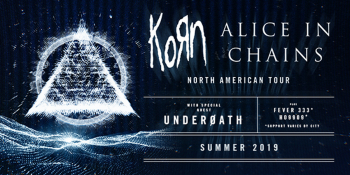 KoRn & Alice in Chains Summer Tour at DTE Energy Music Theatre