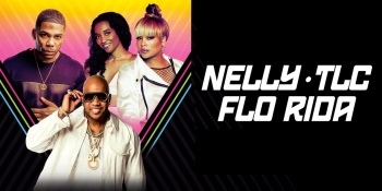 Nelly with TLC & FloRida at DTE Energy Music Theatre