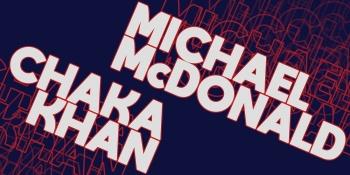Michael McDonald & Chaka Khan at The Cynthia Woods Mitchell Pavilion