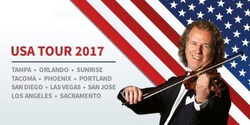 André Rieu and his Johann Strauss Orchestra in San Diego