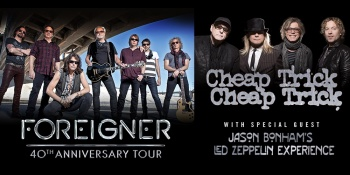 Foreigner with Cheap Trick in Ridgefield, WA