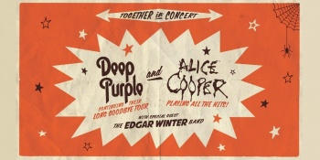 Deep Purple and Alice Cooper in Cuyahoga Falls, OH