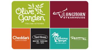 $100 Olive Garden + Live Events Gift Bundle