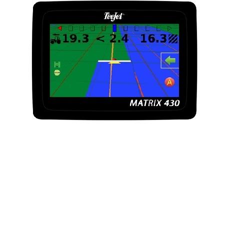 GPS agricol: Matrix 430: ghidare si masurare suprafete agricole