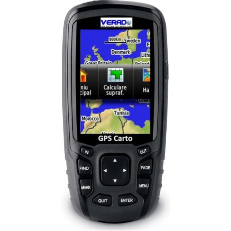 GPS agricol: Solutie completa masurare suprafete GPS Carto