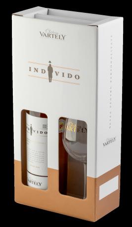 SET INDIVIDO Chateau Vartely - GIFT BOX + PAHAR