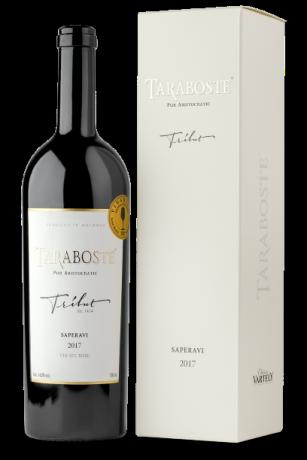 TARABOSTE TRIBUT Saperavi 2017 + gift box