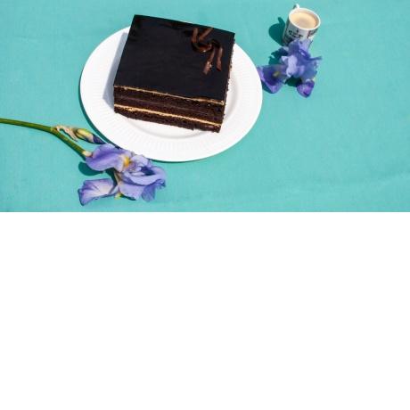 Tort cu ciocolată şi cafea [1 buc.]