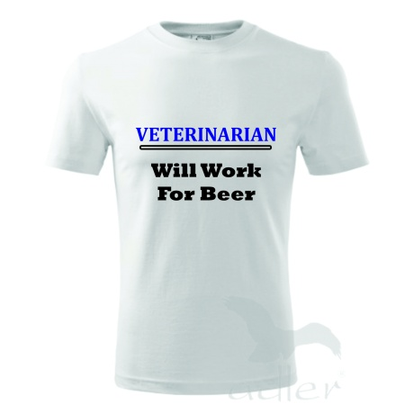 Veterinarian - Will Work For Beer