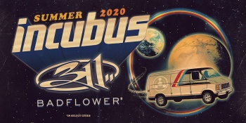 Incubus with 311 in The Woodlands